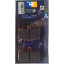Set of pads type 1145 RX3