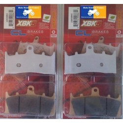 2 Sets of front brake pads for Suzuki GSF 1200 S/N Bandit 2001-2005