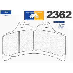Set of pads type 2362 A3+