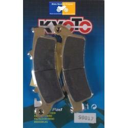 Jeu de plaquettes avant Kyoto pour Peugeot 125 / 150 Looxor 2003-2008