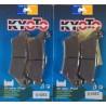 2 Jeux de plaquettes avant Kyoto pour Aprilia 850 SRV 2012+