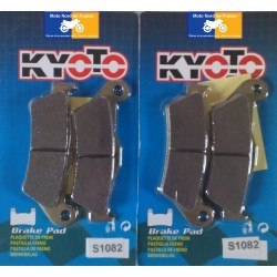 2 Sets of front pads Kyoto for Gilera 500 Nexus 2004-2012