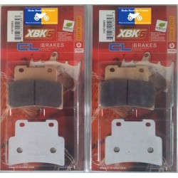 2 Sets of front brake pads for Aprilia 750 Shiver 2007+