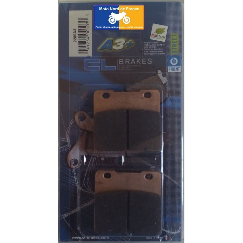 Set of pads type 2280 A3+