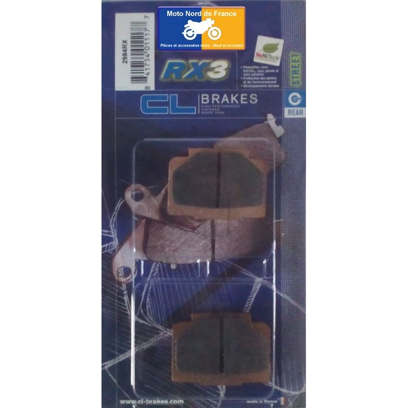 Set of pads type 2984 RX3