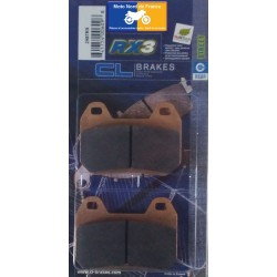 Set of pads type 2987 RX3