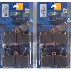 2 Sets of front brake pads for BMW K1300 R 2009+