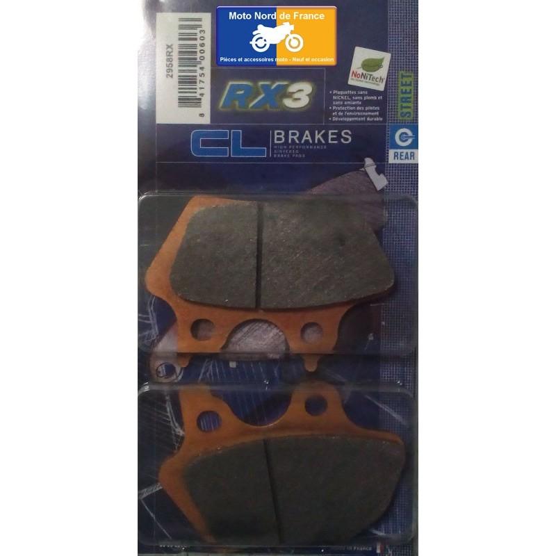Set of pads type 2958 RX3