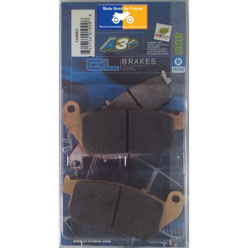 Set of pads type 1149 A3+