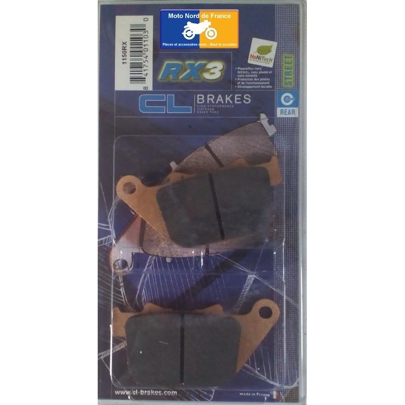 Set of pads type 1150 RX3