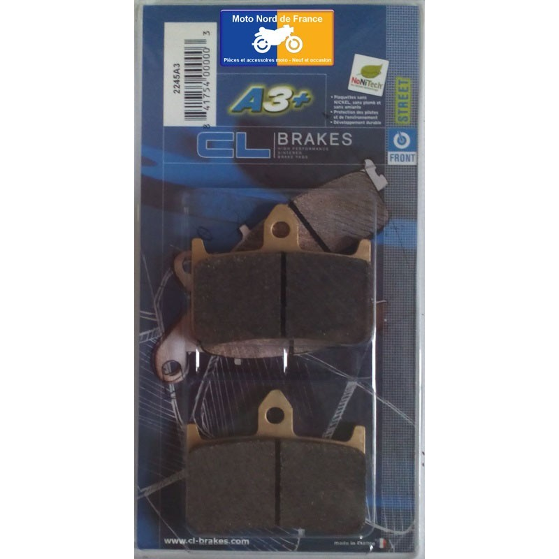Set of pads type 2245 A3+