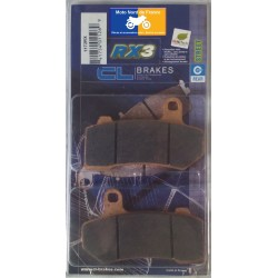 Set of pads type 1172 RX3