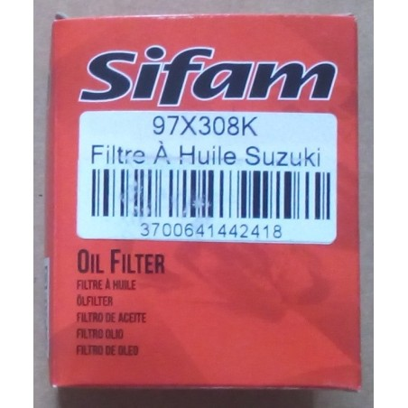 Oil filter Sifam for Suzuki DR 650 RSE 1991-1996