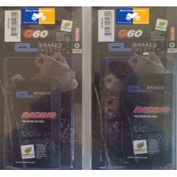 2 set of racing pads for RS 250 1997-2005