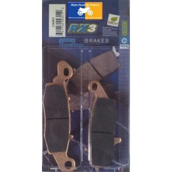 Set of brake pads Carbone Lorraine type 2384 RX3