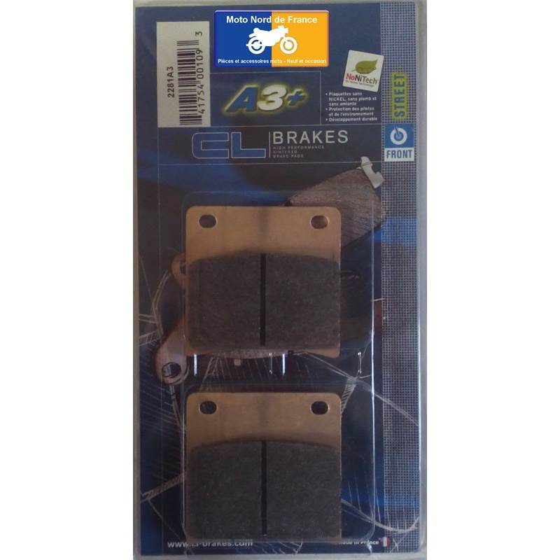 Set of pads type 2281 A3+