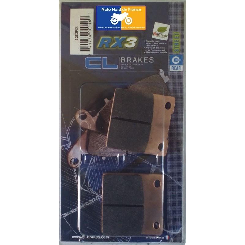 Set of pads type 2282 RX3
