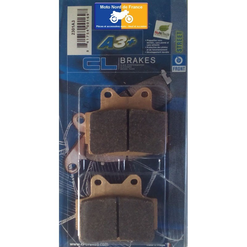 Set of pads type 2301 A3+