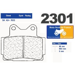 Set of pads type 2301 RX3