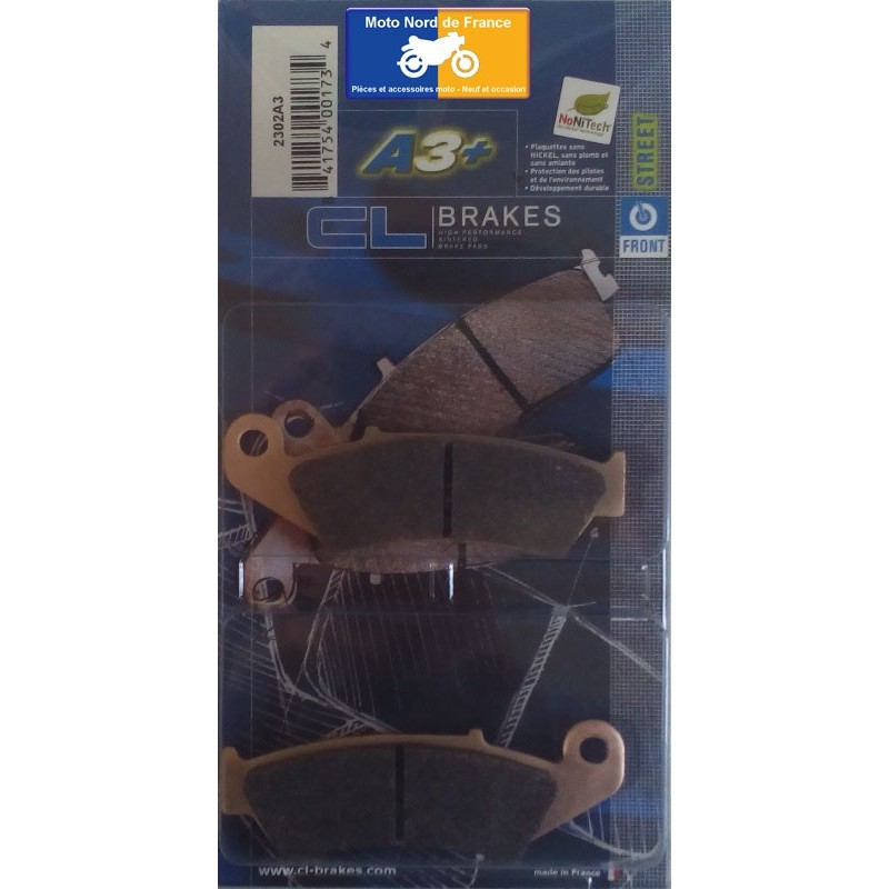 Set of pads type 2302 A3+
