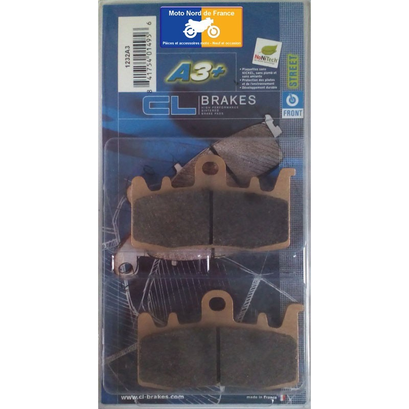 Set of pads type 1232 A3+