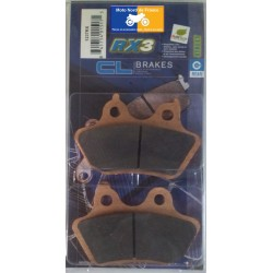 Set of pads type 1237 RX3
