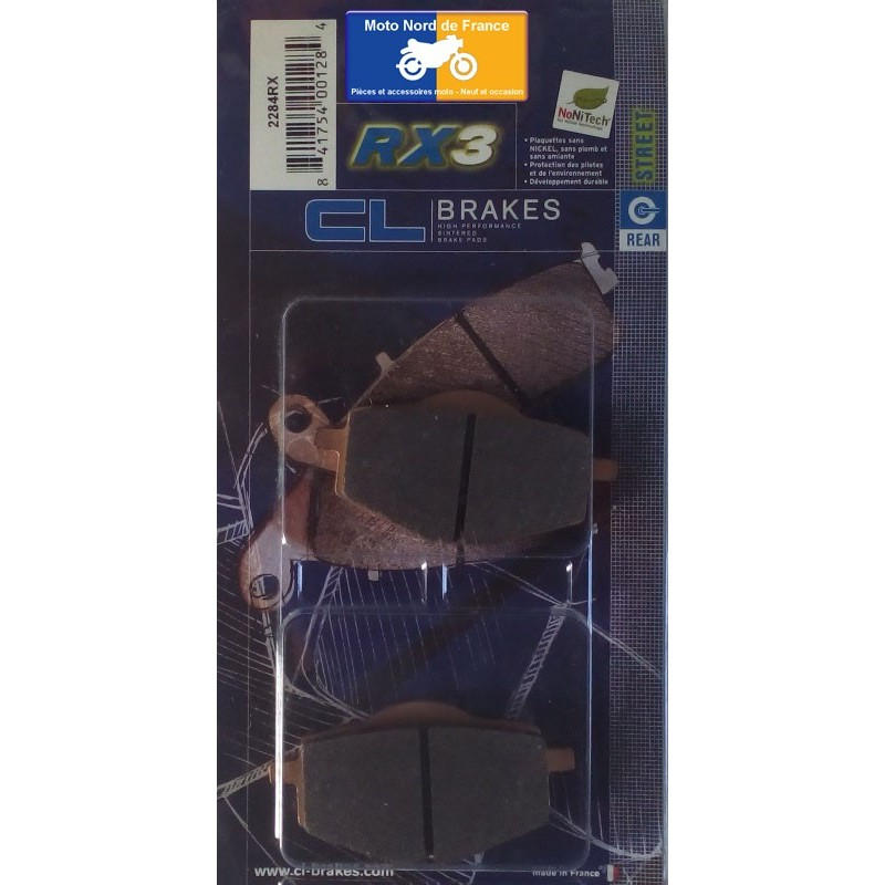 Set of pads type 2284 RX3