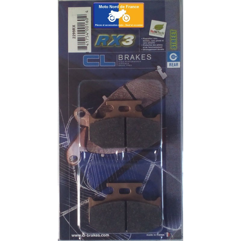 Set of pads type 2299 RX3