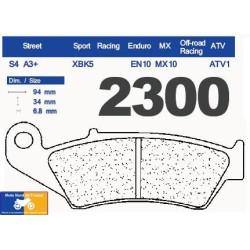 Set of pads type 2300 A3+