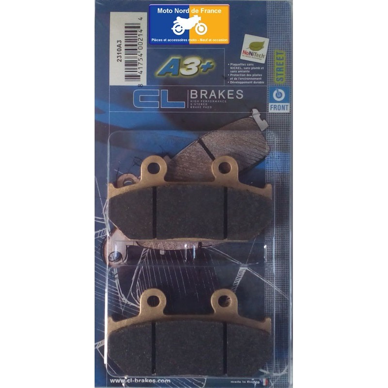 Set of pads type 2310 A3+