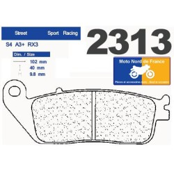 Set of pads type 2313 A3+