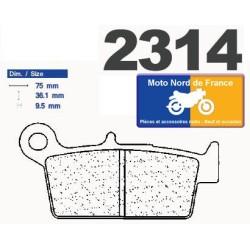 Set of pads type 2314 S4