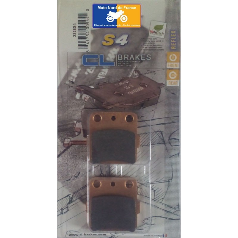 Set of pads type 2328 S4