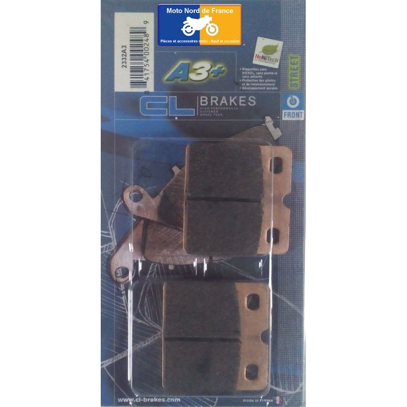 Set of pads type 2332 A3+