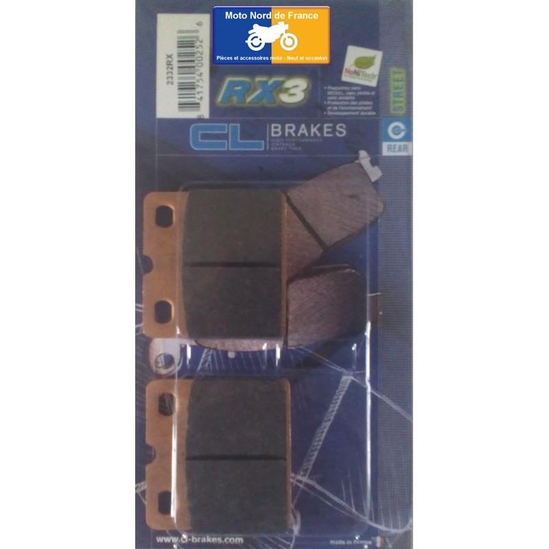 Set of pads type 2332 RX3