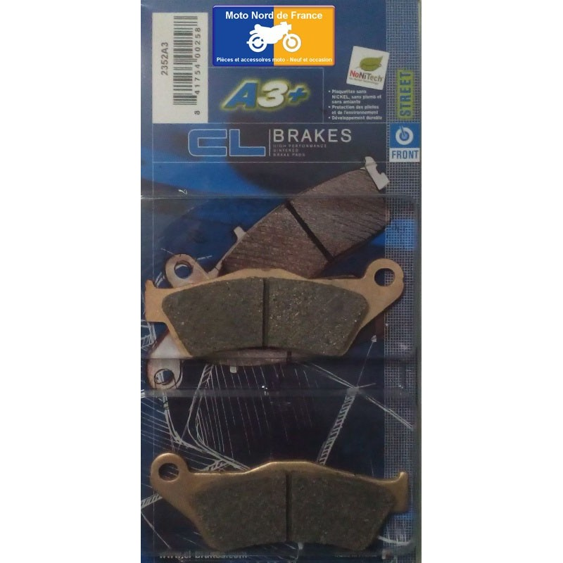 Set of pads type 2352 A3
