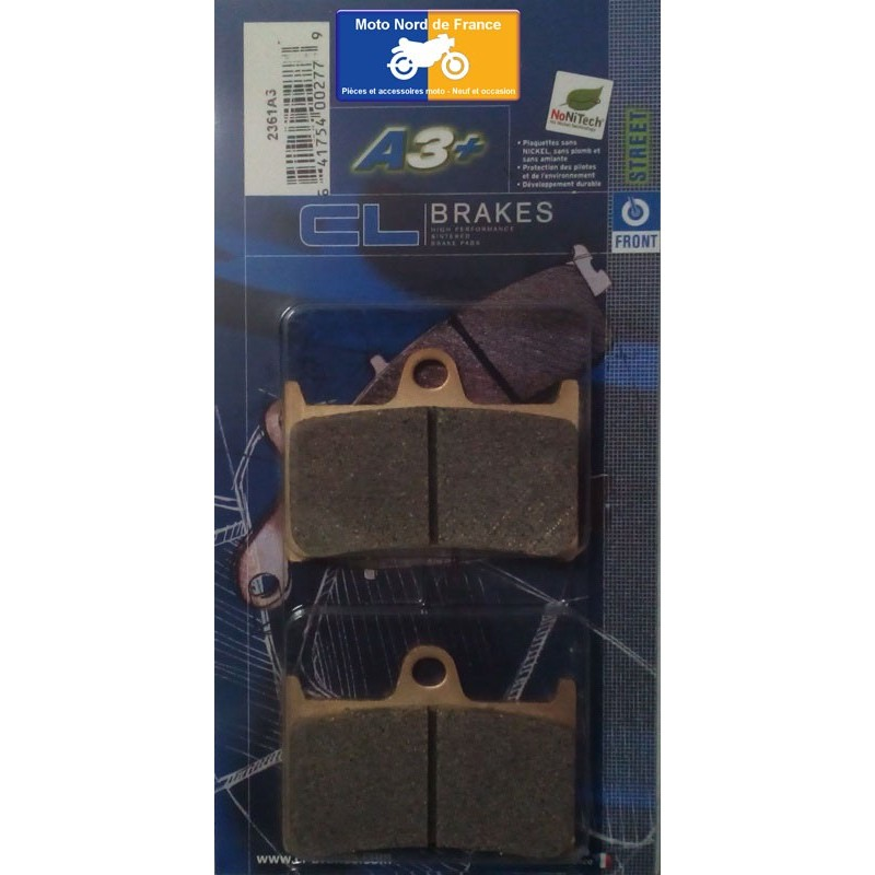 Set of pads type 2361 A3+