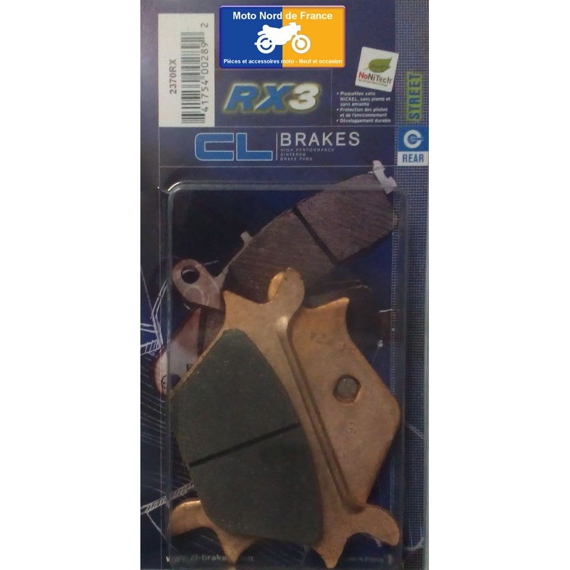 Set of pads type 2370 RX3