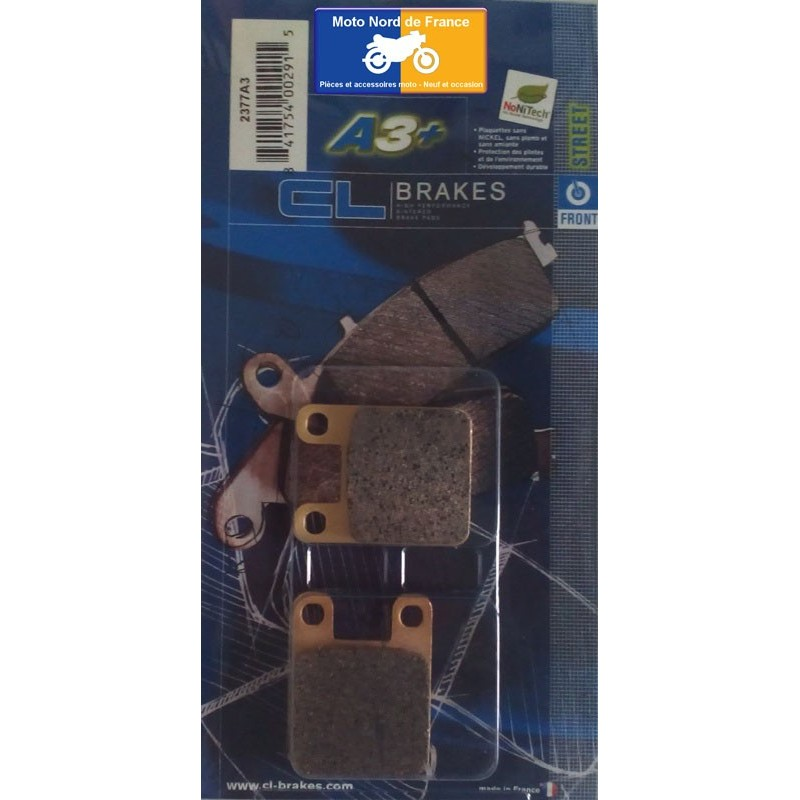 Set of pads type 2377 A3+