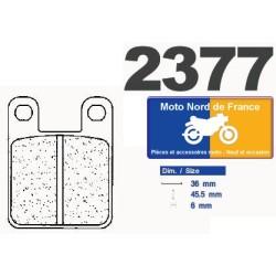 Set of pads type 2377 S4
