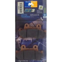 Set of pads type 2382 RX3