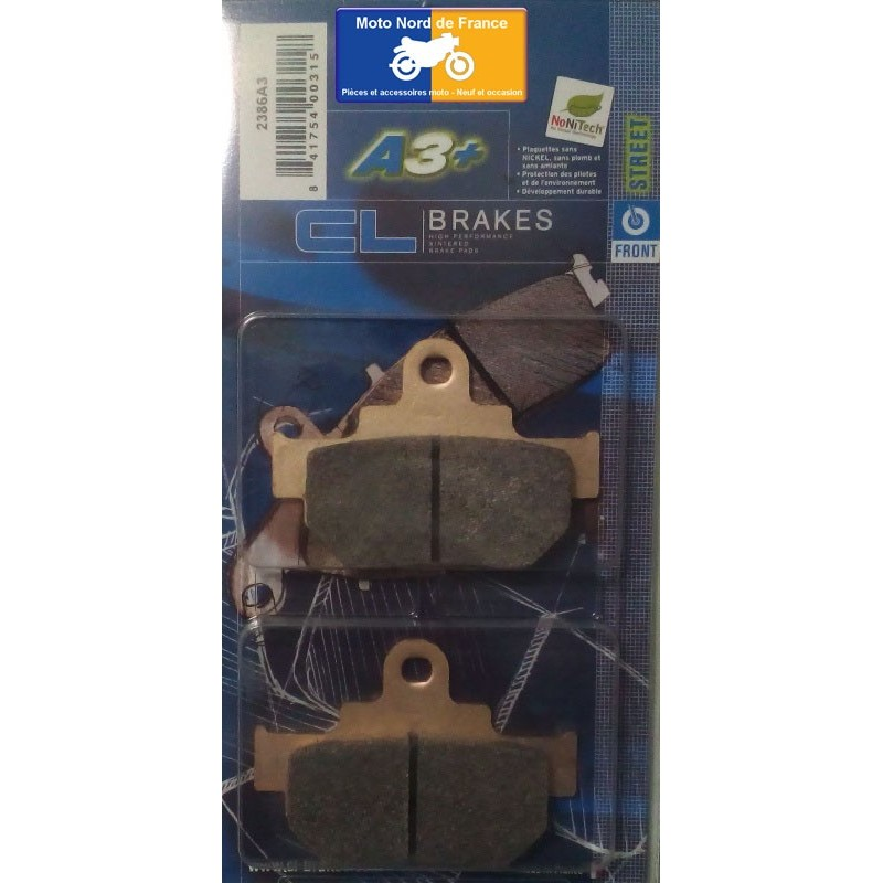 Set of pads type 2386 A3+