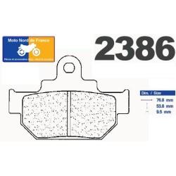 Set of pads type 2386 A3+