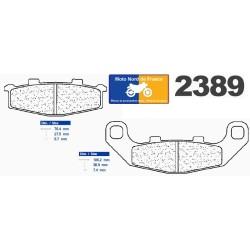 Set of pads type 2389 RX3