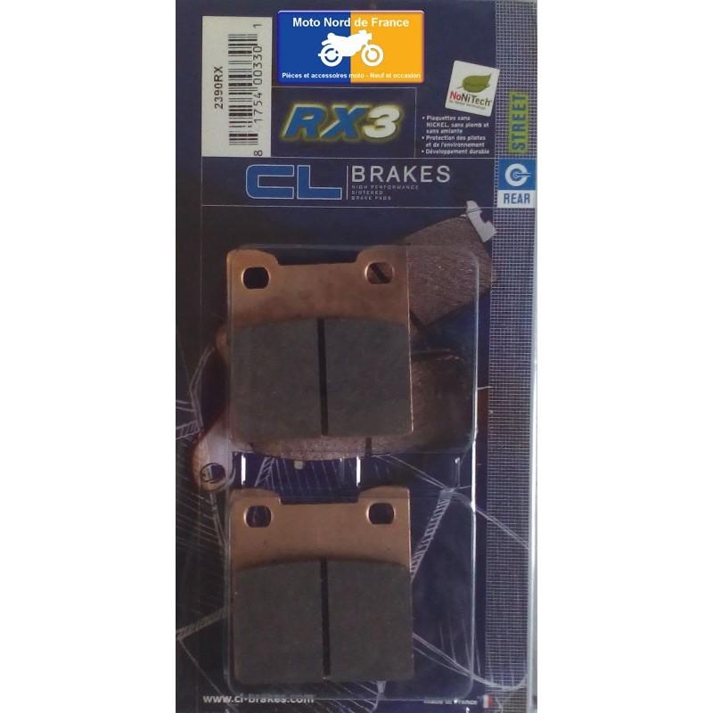 Set of pads type 2390 RX3