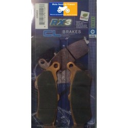 Set of pads type 2396 RX3