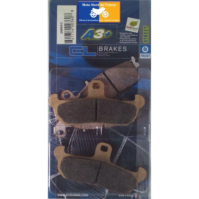 Set of pads type 2400 A3+