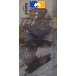 Jeu de plaquettes de frein avant pour Yamaha DT 50 LC 1998-2000