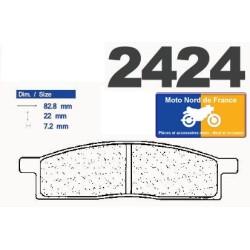 Set of pads type 2424 S4