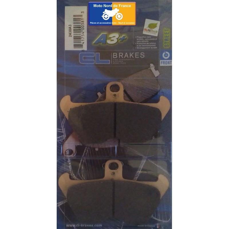 Set of pads type 2430 A3+